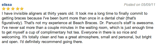 Beach Braces Orthodontist reviews