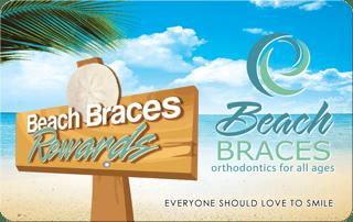Beachbraces reward card