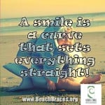 A Smile is a Curve - Smile Quotes