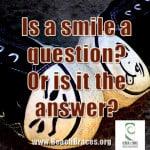 Straight smile