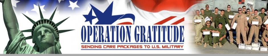 Operation Gratitude - Oklahoma