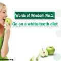 a white-teeth diet