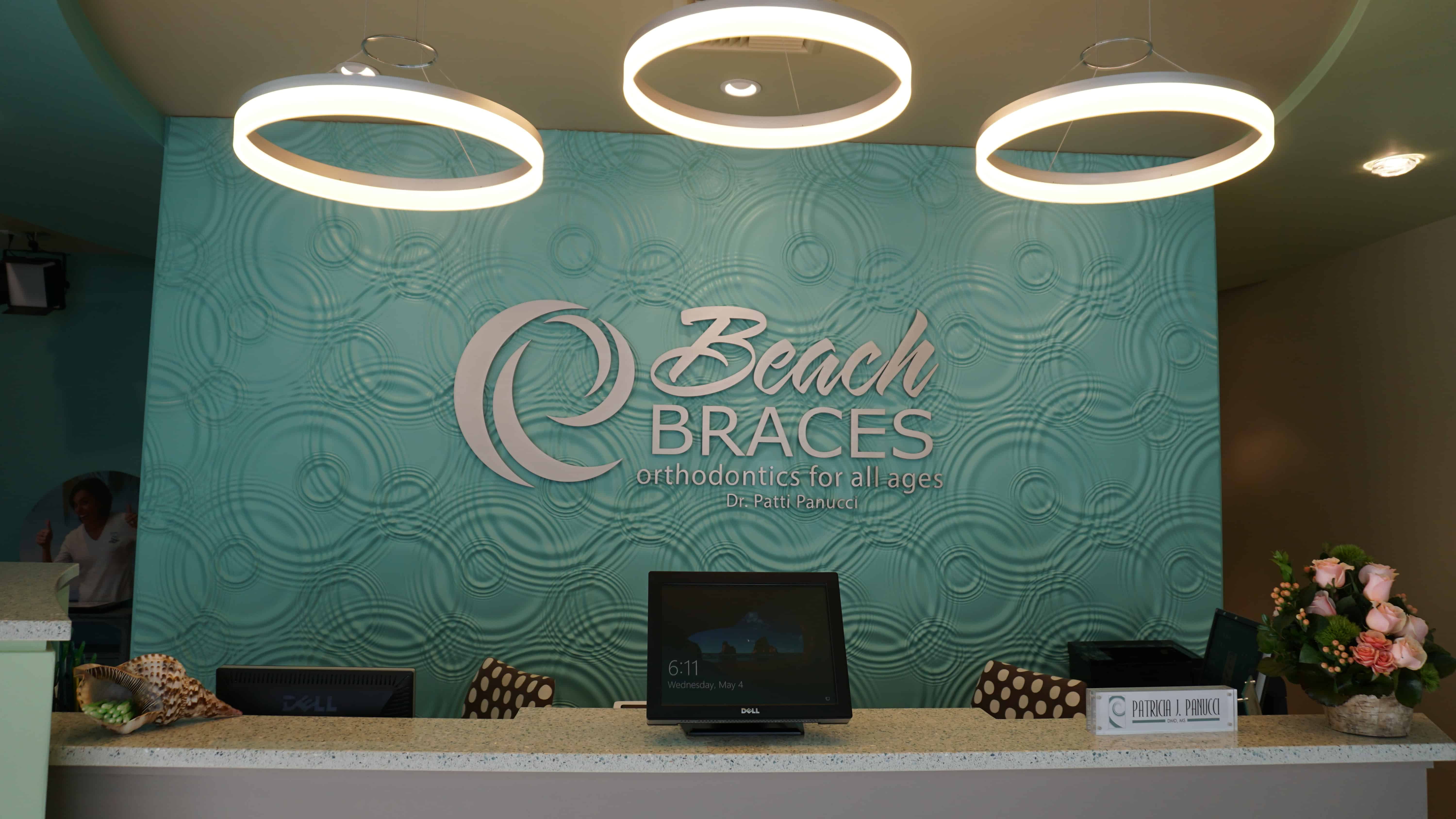Beach Braces reception area