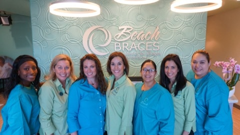 Beach Braces Dr. Panucci and team in new office