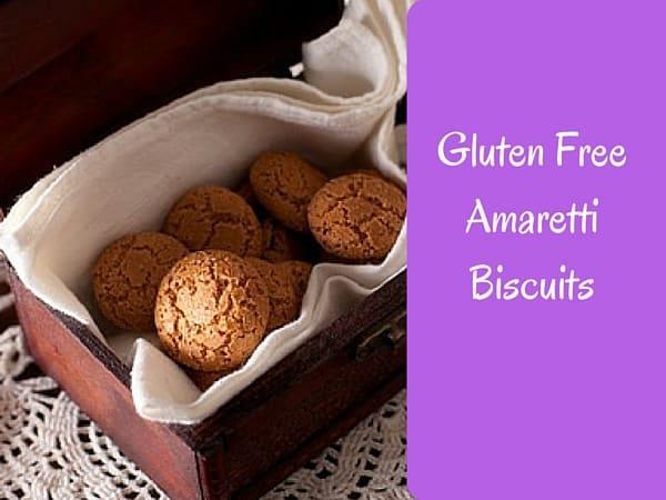 Gluten Free Amaretti Biscuits
