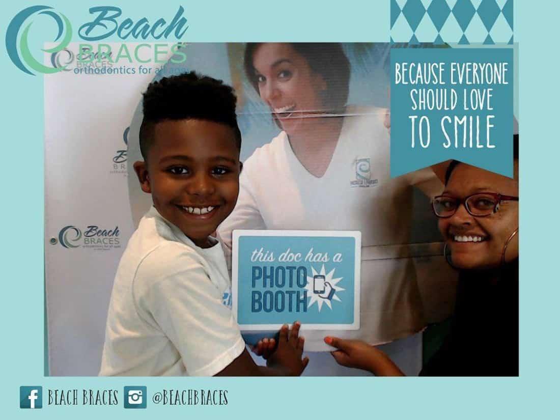 beach braces orthodontics - phone booth contest winner december