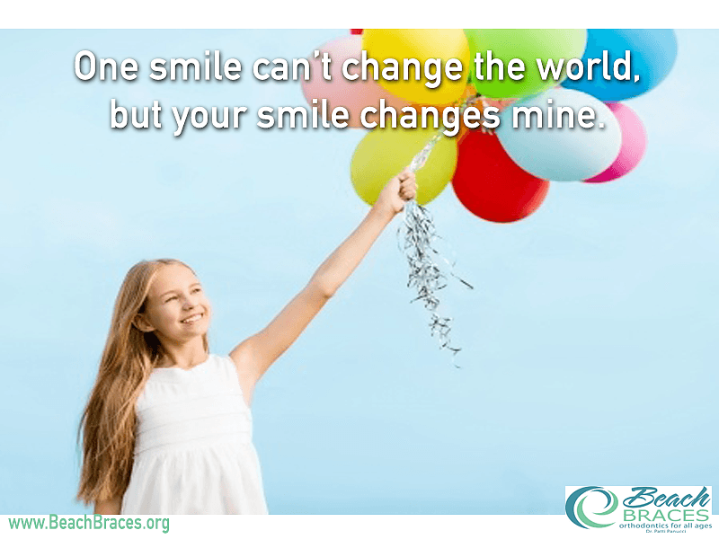 One Smile Cant Change The World But Your Smile Changes Mine